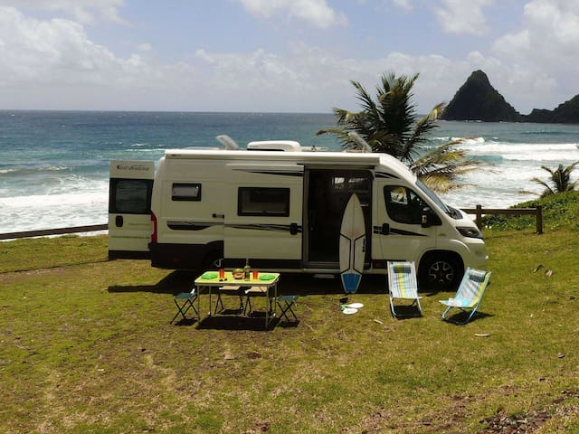 Explorez la Martinique en camping-car!