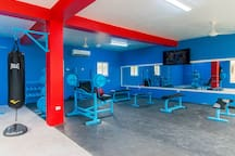 Keep in shape at our gym