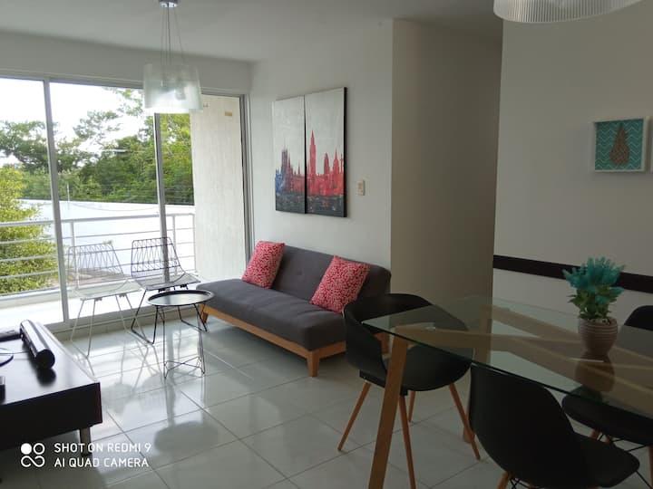 CH-3- Moderno apartamento en condominio