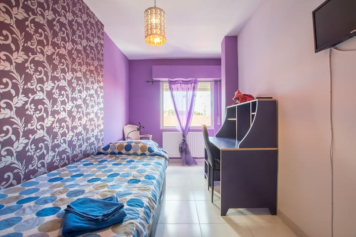 Charming Rooms - Single or Double Room - Alcalá de Henares - Leilighet