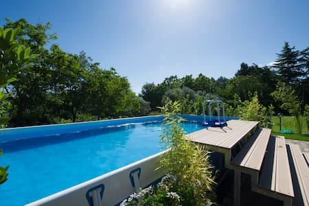 The Garden of Eden self-contained villa - Calcinelli - Ház