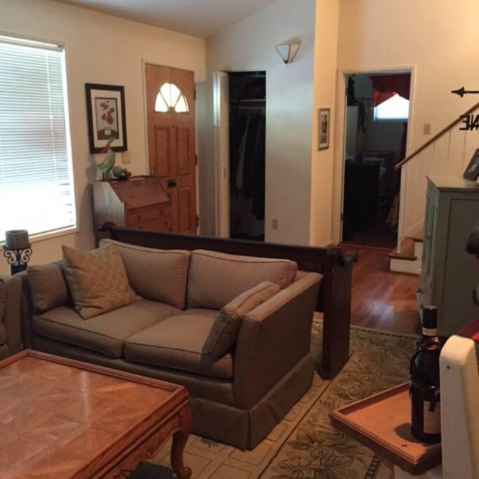 Cozy living room for conversation