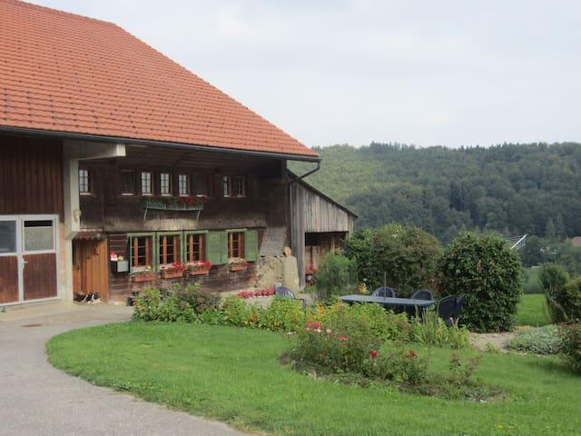 Ferme du Bietschland - Le Mouret - Guesthouse