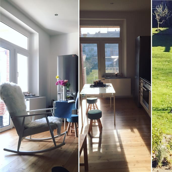 Completely renovated apartment next to Henkel