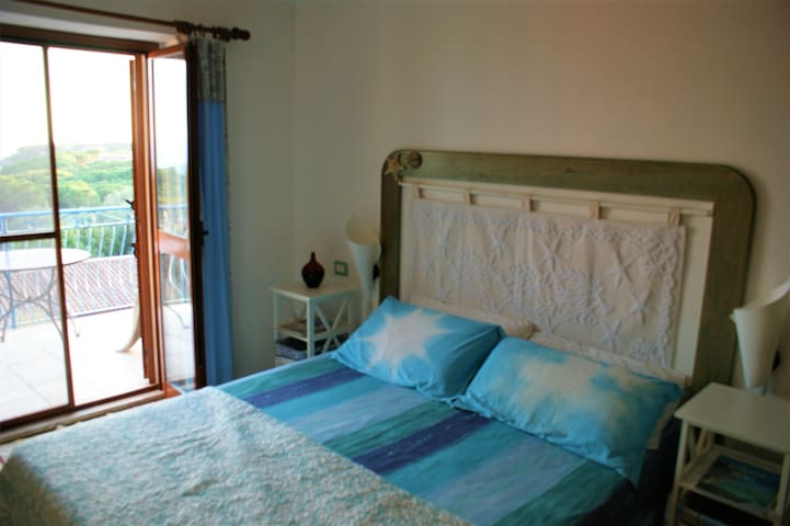 Privat room with seaview