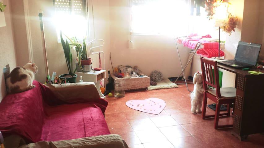 QUIET DOUBLE ROOM IN FLAT NEAR SAGRADA FAMILIA - Barcelona - Pis