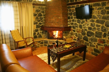 2 Guest Apartment with Fireplace, Loutra Pozar