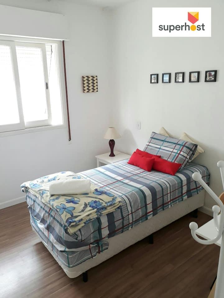 Your room near Anhembi & Expo Center Norte
