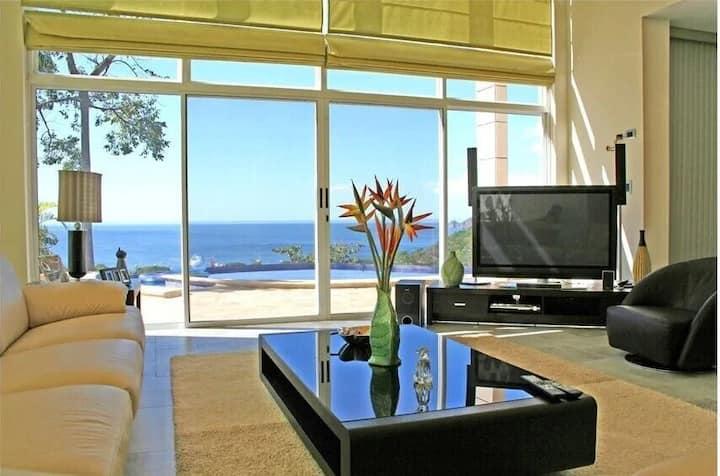 Modern Ocean View Estate in Playa Hermosa 100MB