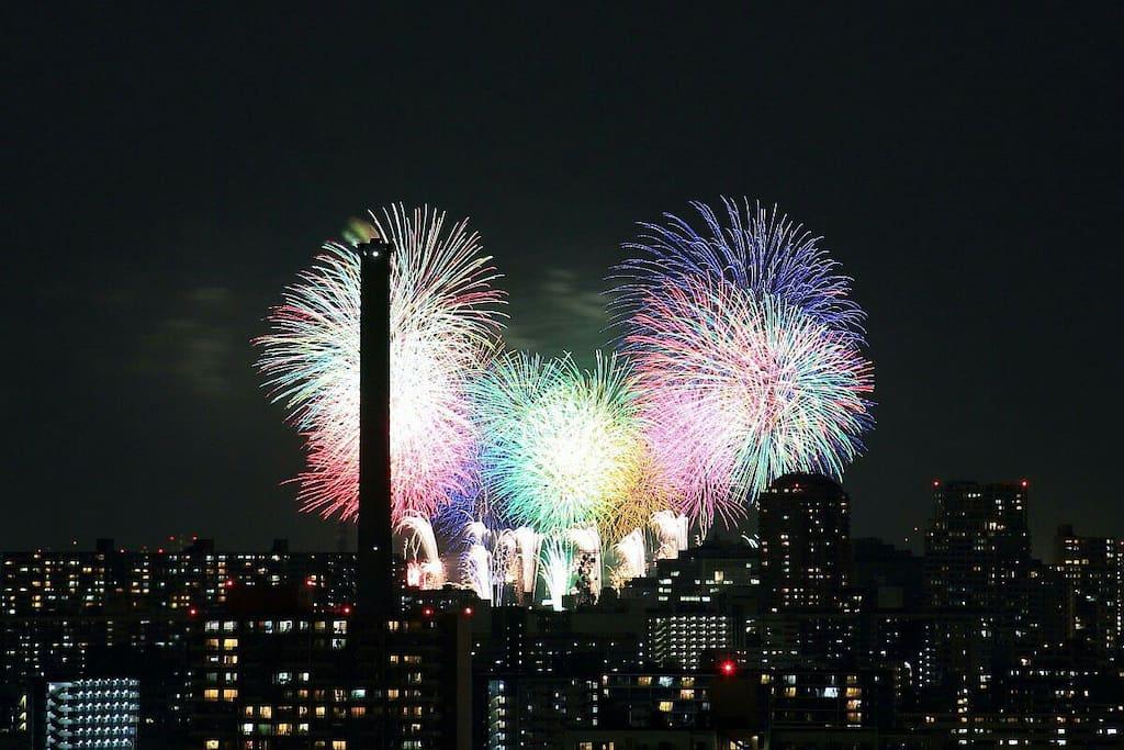 Osaka fireworks^^