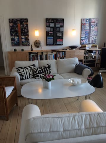 Stor lækker lejlighed, Søndermarken - 코펜하겐(Copenhagen) - 아파트