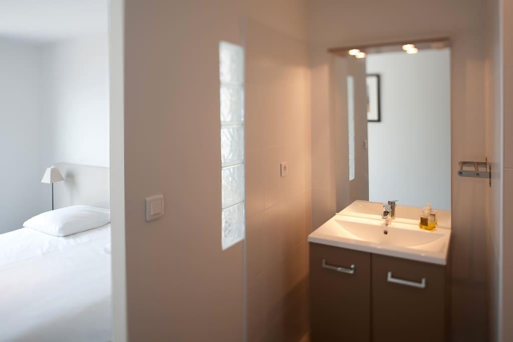 Chambre - salle de bain privée