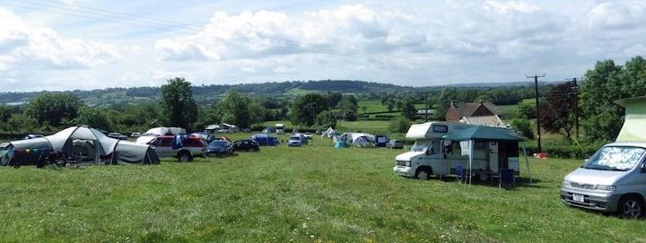 Pilton Hill Camping - Glastonbury Festival camping
