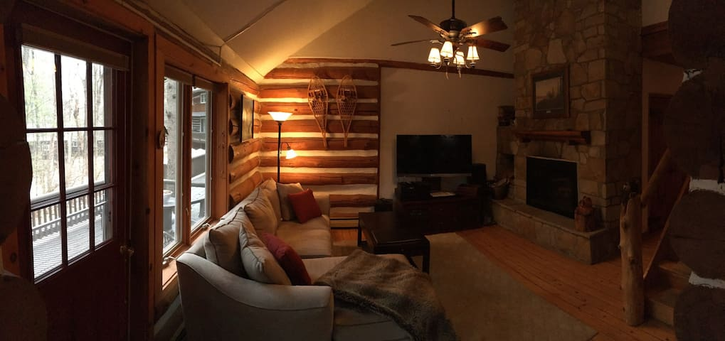 Authentic Rustic Log Condo - Chestertown - Cabin