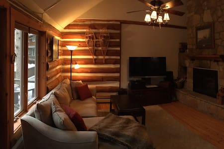 Authentic Rustic Log Condo - Chestertown - Cabana