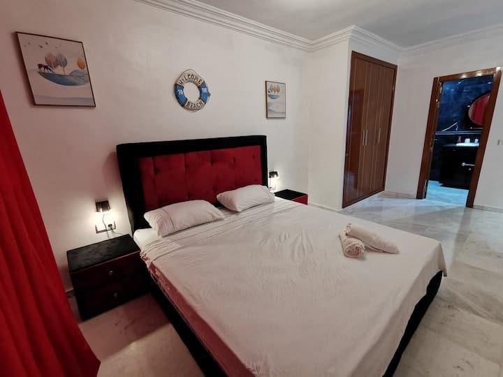 appartement  2 chambres vue sur mer au centre