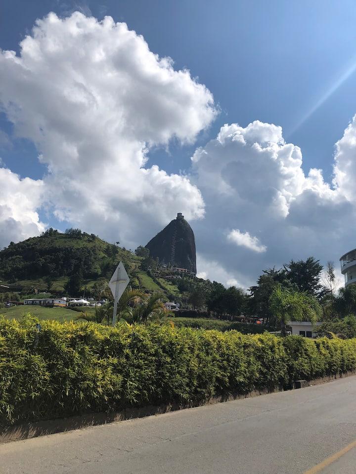 The Peñol Rock