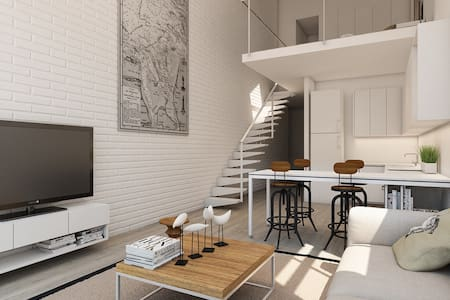 A cozy, modern suite in Sanzhi - Loftlakás