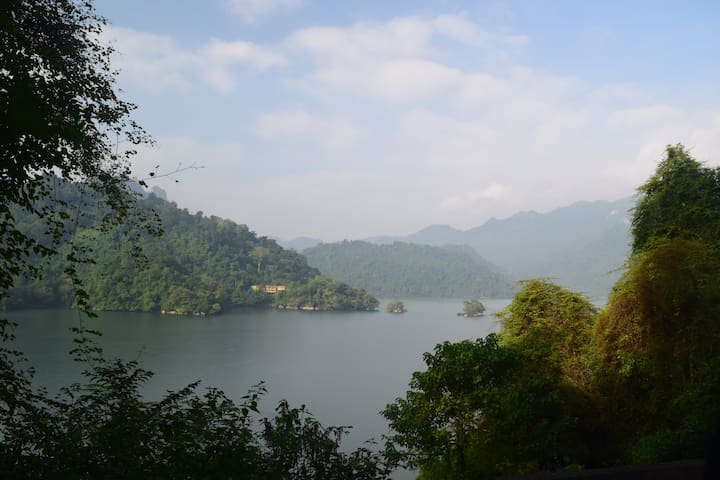Ba Be Lake is a largest nature lake in Vietnam.