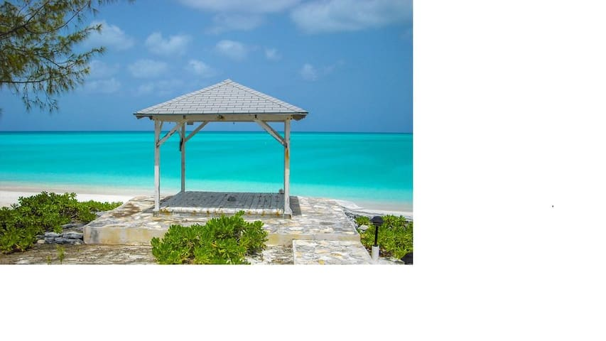 Deserted Beach Cape Santa Maria Bahamas