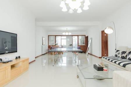 2房公寓毗邻惠山古镇、锡惠公园、古运河,精装大平层(FREE PARKING) - Wuxi - Appartamento