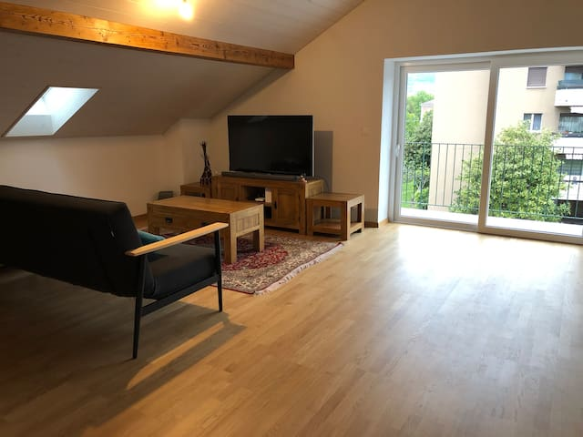Charming Attic apartment  with modern amenities