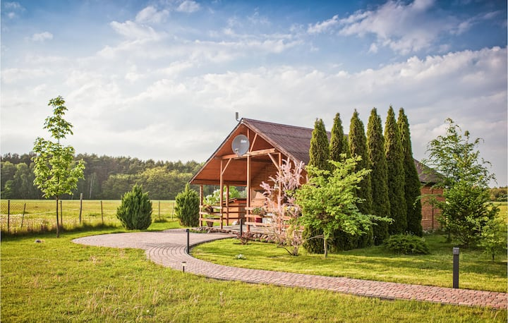 Holiday cottage with 2 bedrooms on 42m² in Sierakow