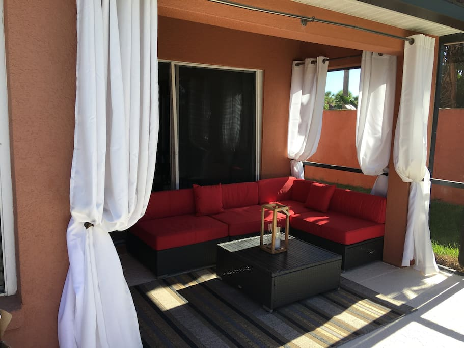 Your private cabana
