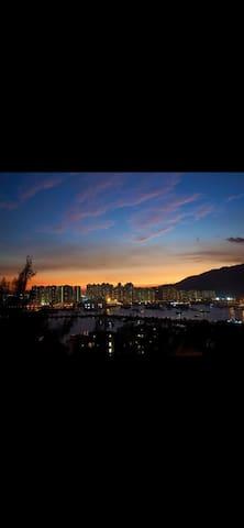 青榕台海景