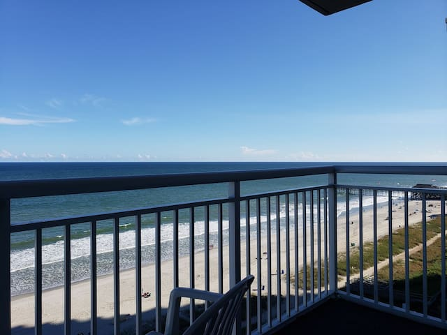 Oceanfront condo at Atlantica!