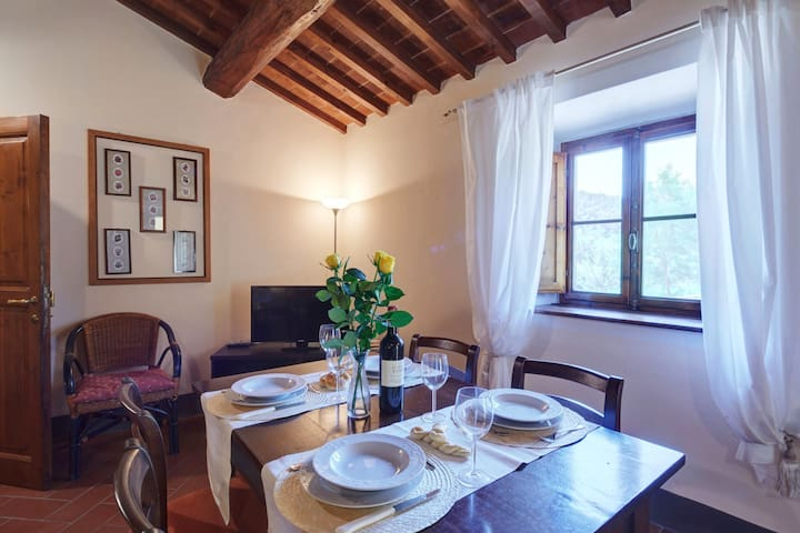 """Spacious Country House """"Covo"""" in Tuscany with Pool"""