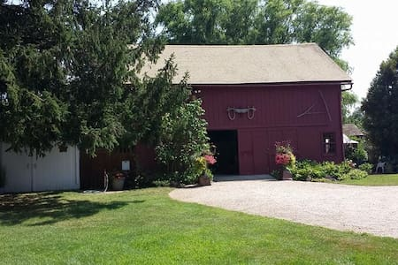 Rustic barn with cushy amenities - Cutchogue