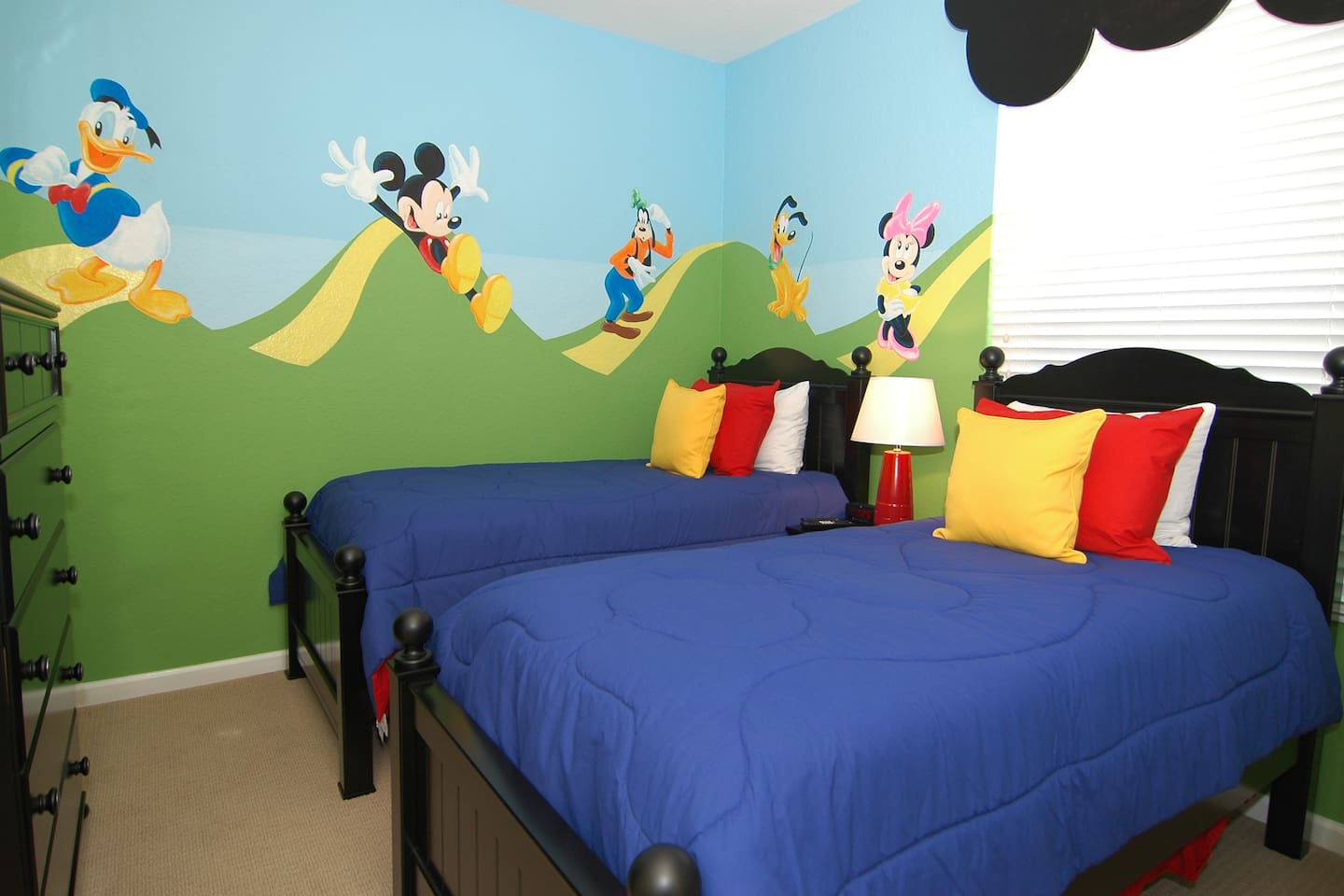 two twins bedroom