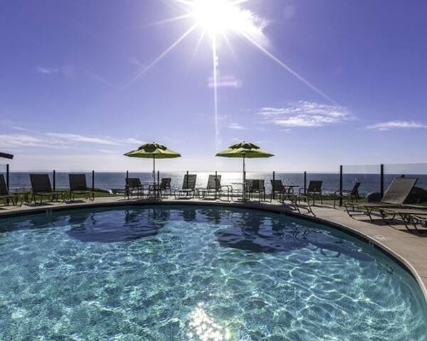 Studio at Ocean Front Wave Crest Resort