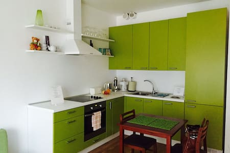 Cozy studio apartment with sunny terrace - Vilnius
