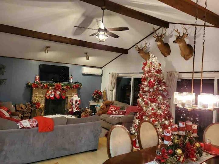 Make a December 2  Remenber  house decoraed 4xmas