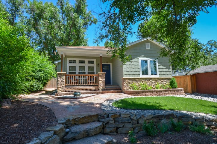 Centrally located Craftsman House