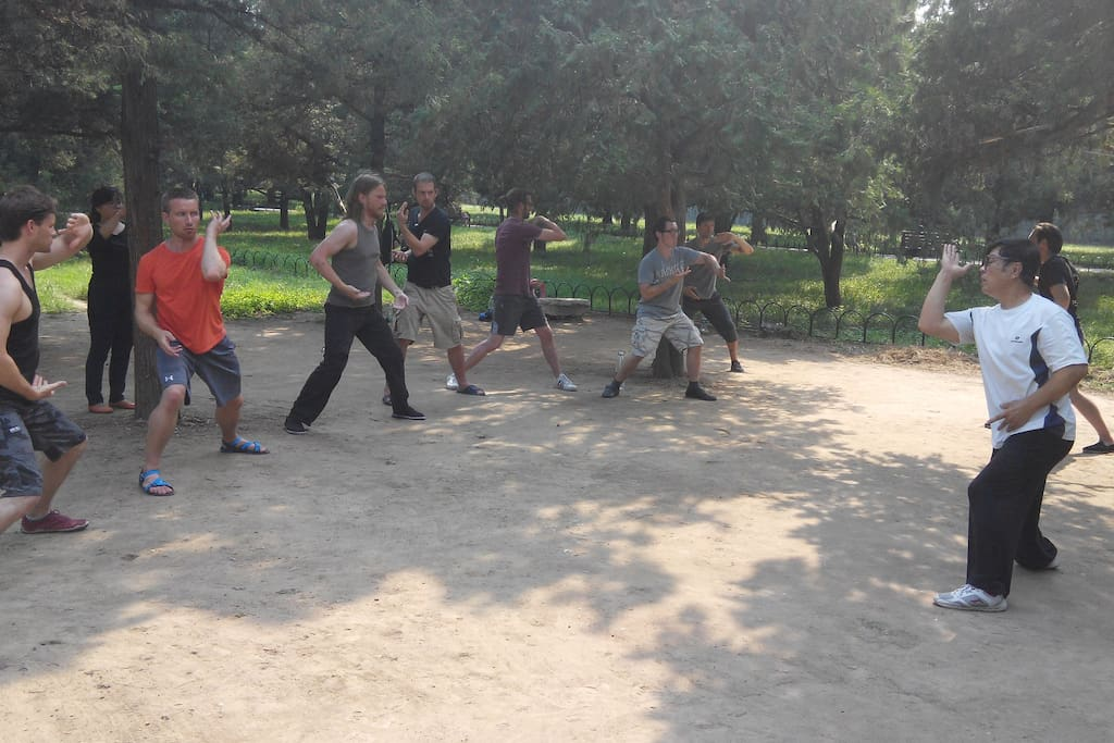 Get introduced to some of Beijing's best kungfu masters