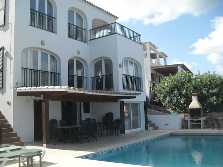 Addaia-Villa with Heated Pool offering Mini Breaks