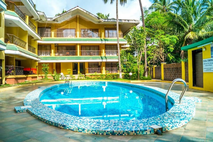 02 Bedroom Fully Furnished Pool Facing Apartment
