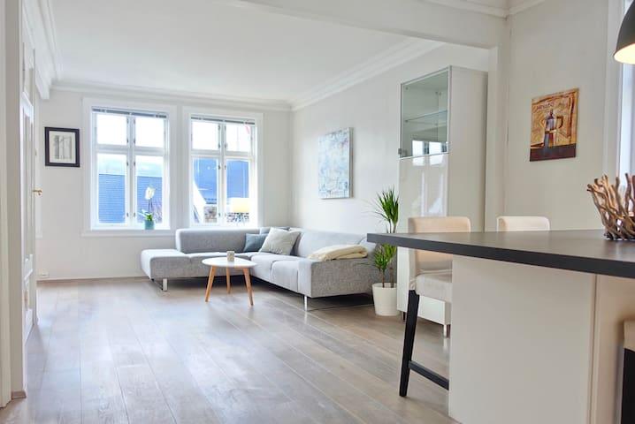 Gardenview Apartment in historic Bergen