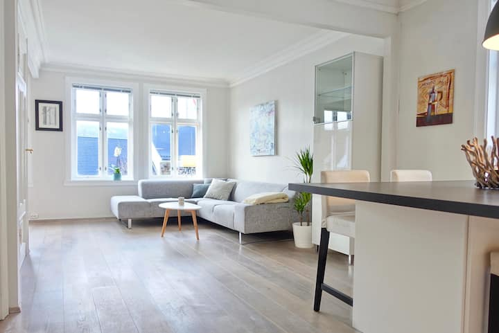 Gardenview Apartment in historic Bergen