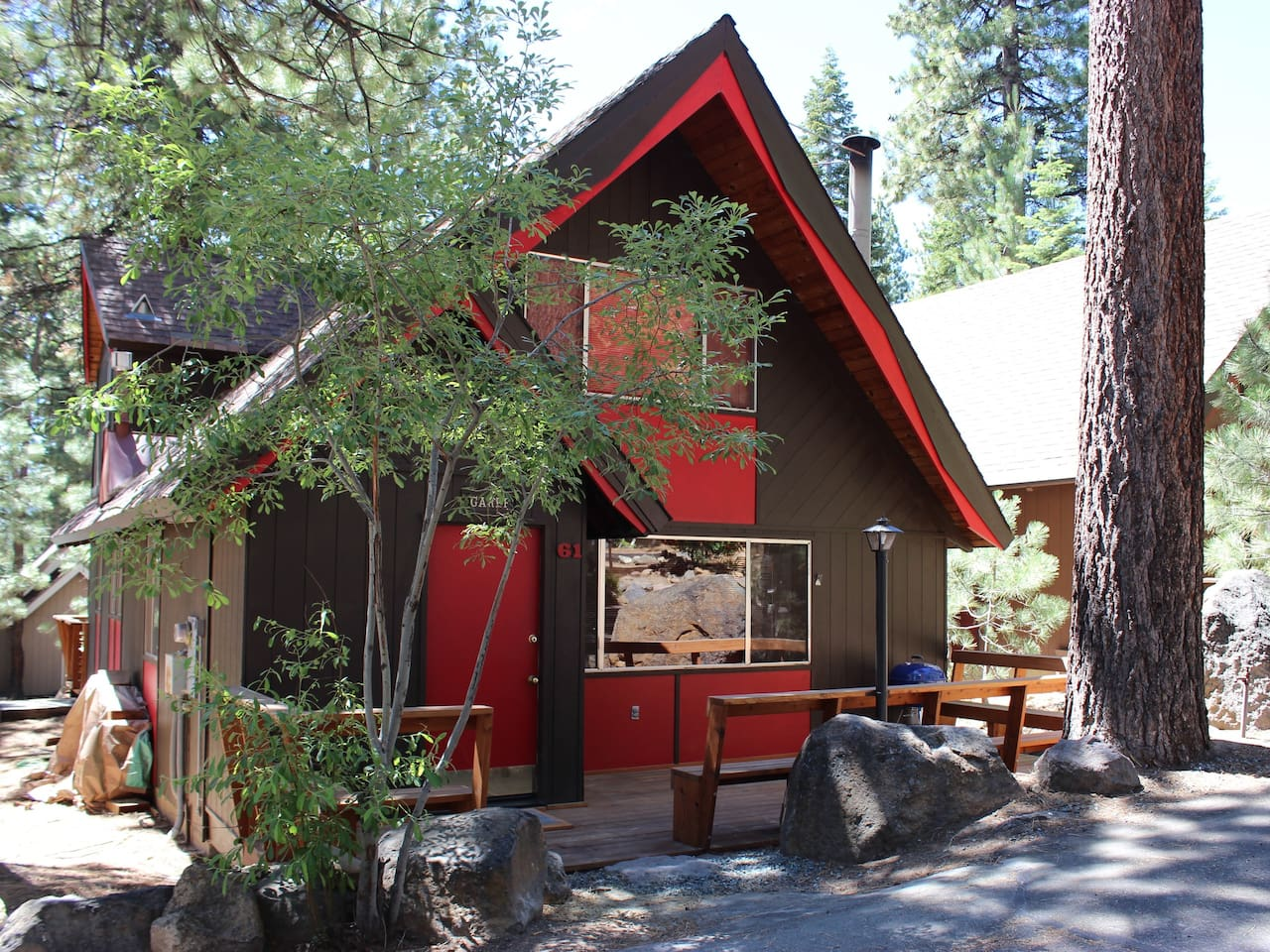 The Red Cabin at Incline Crest