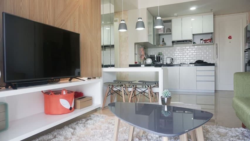 PROMO! 3BR NEW LANDMARK RESIDENCE APARTMENT COZY