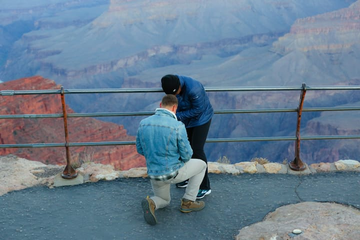 A canyon proposal!