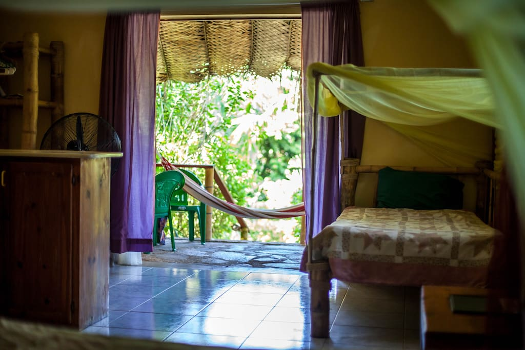Typical View from a Guest Bungalow Bed