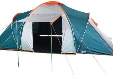 Excelente e charmoso camping para barracas