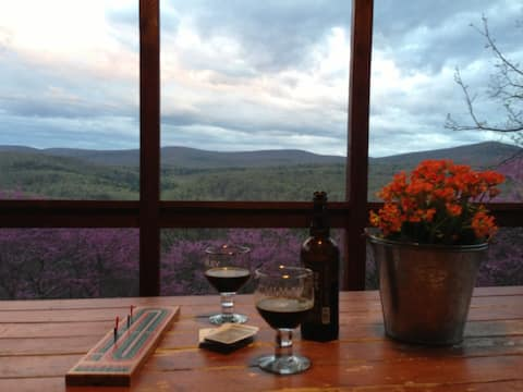 Mountaintop Retreat —Stunning Views of Lost River!
