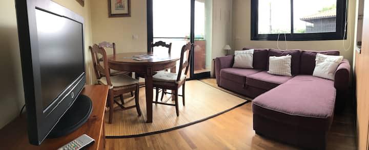Luminoso apartamento en Luanco cerca del mar WIFI