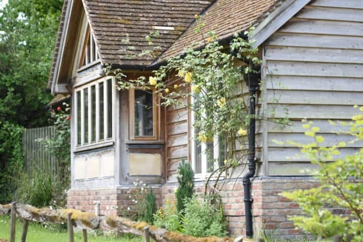 New Forest self catering cottage & fenced garden